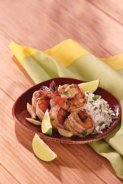 Shrimp in Garlic Mojo