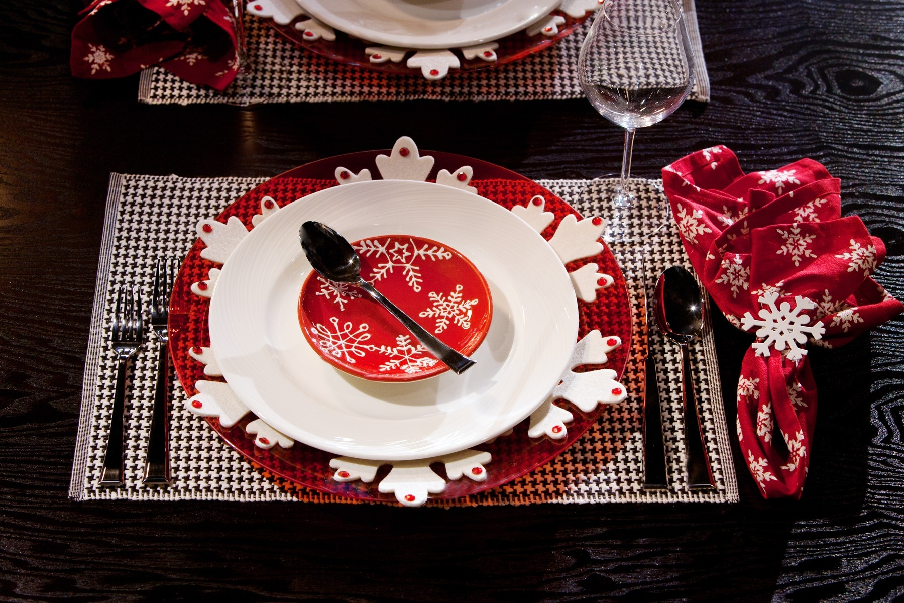 Christmas Dinner Tablescapes Christmas Tablescape Dinner