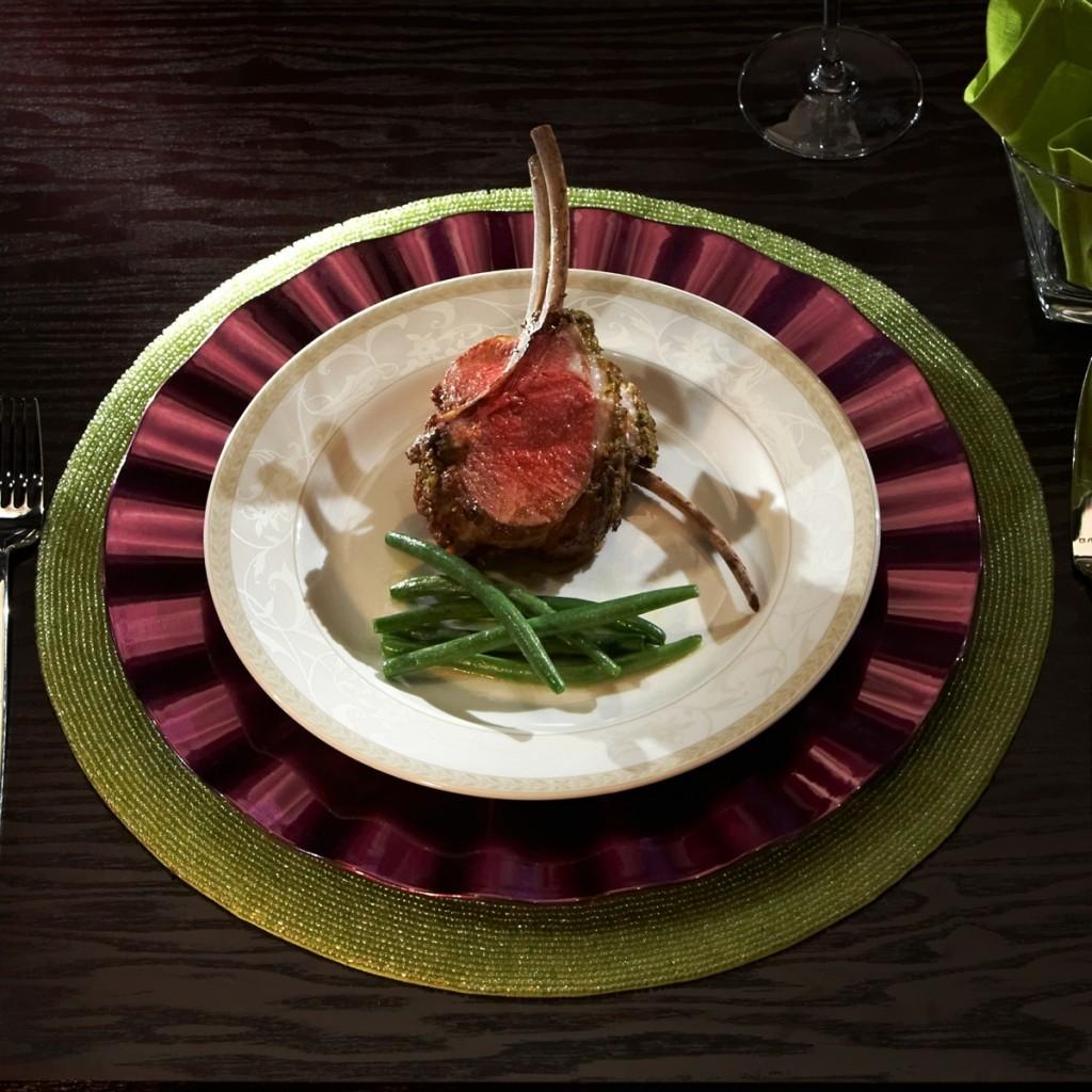 Lamb with Dijon Herb Crust