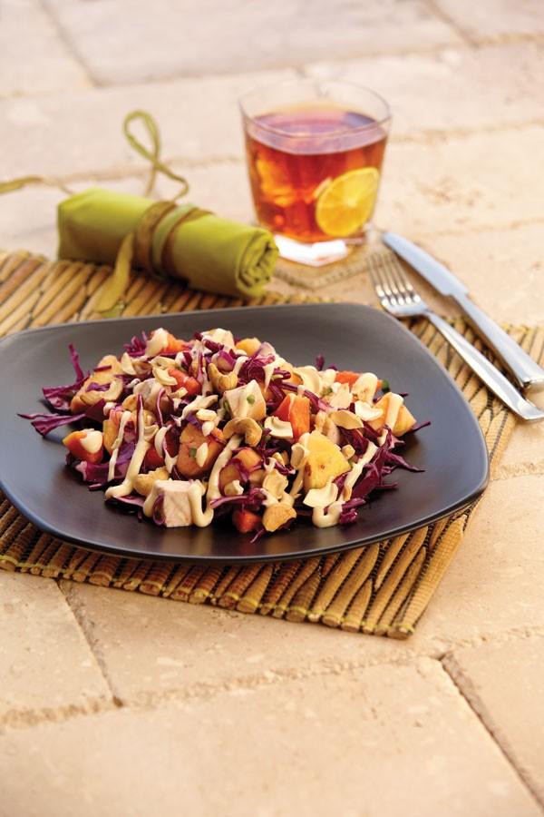 Honey-Papaya Chicken Salad