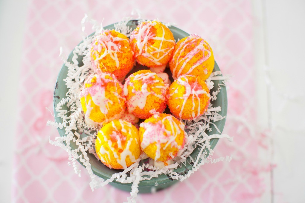 Easter Egg Cakes by Dinner4Two