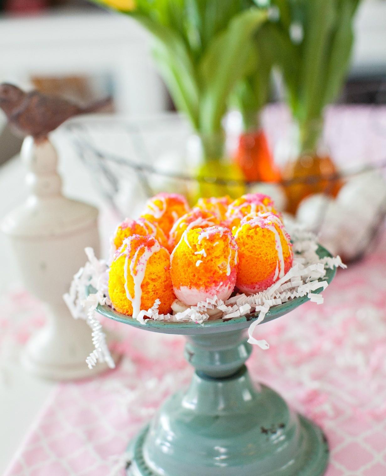 Easter Cake eggs 3 Dinner4Two