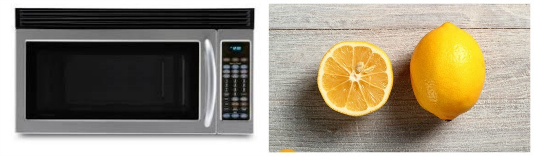Microwave Cleaning Hack With Lemons