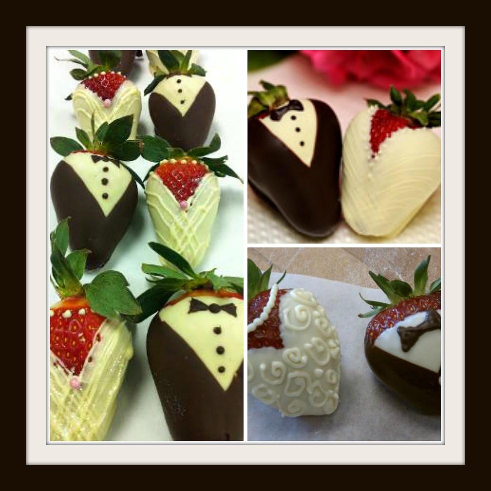 Picmonkey Collage Bride Groom Strawberries