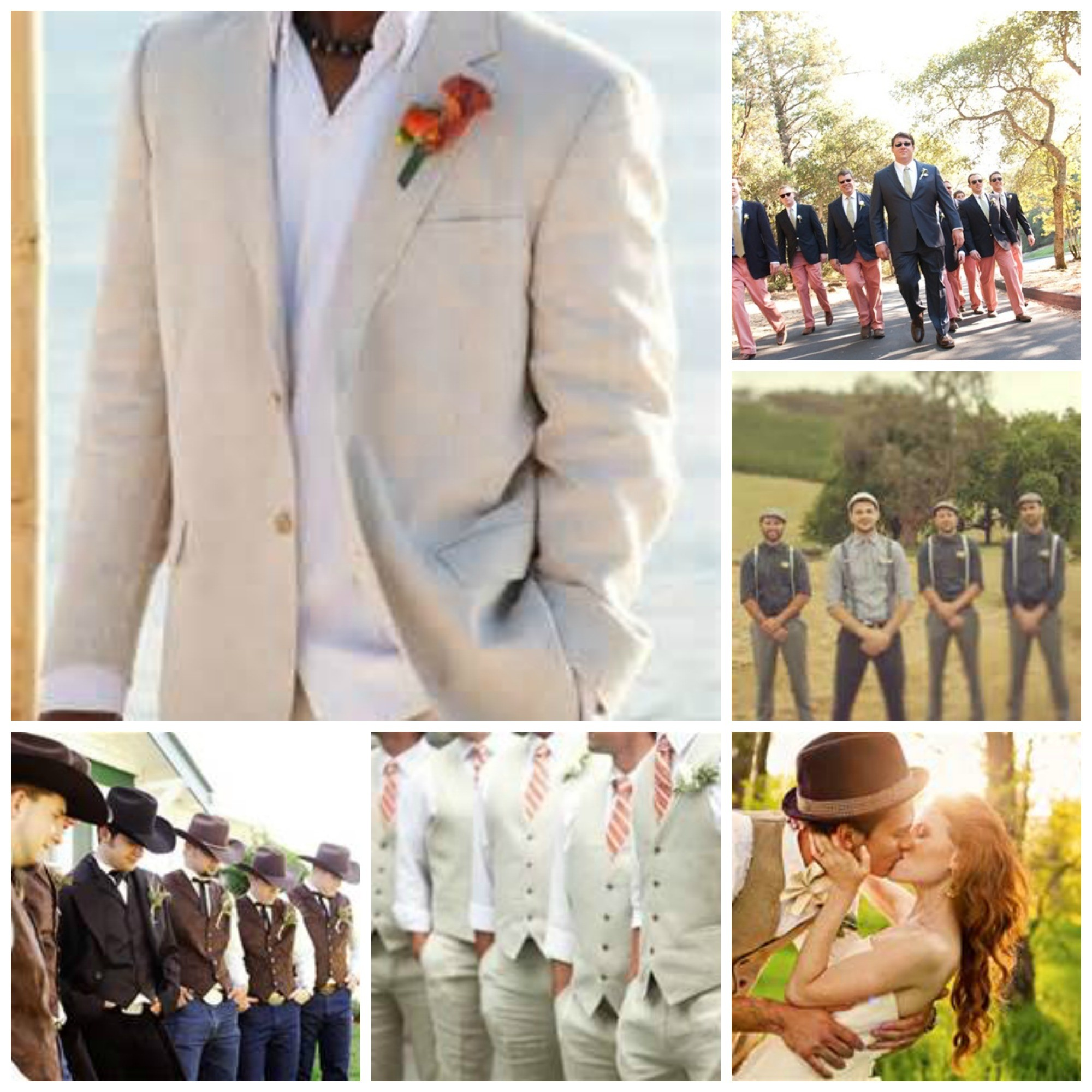 Grooms Attire for The Wedding, Tux vs Suit - Dinner 4 Two