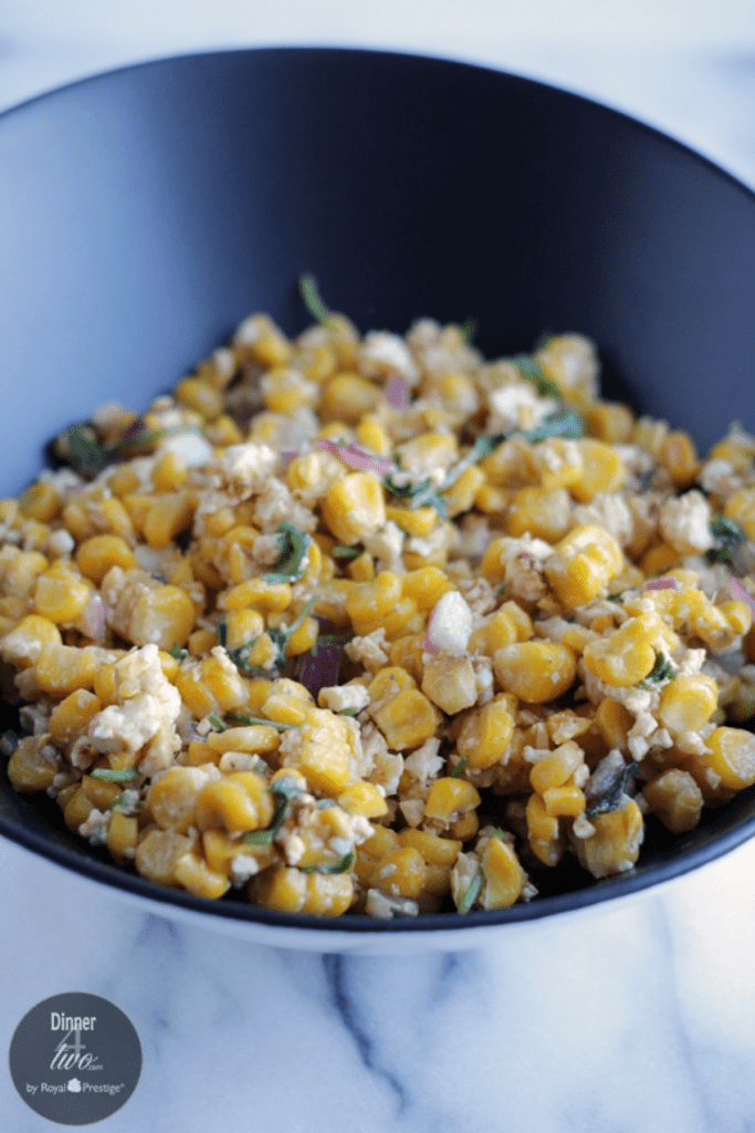 Cotija Lime Corn Salad