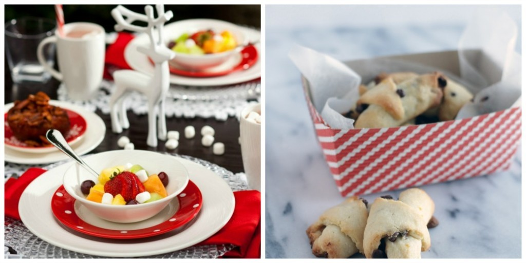 Pumpkin Rugelach & Christmas Morning Tablescape