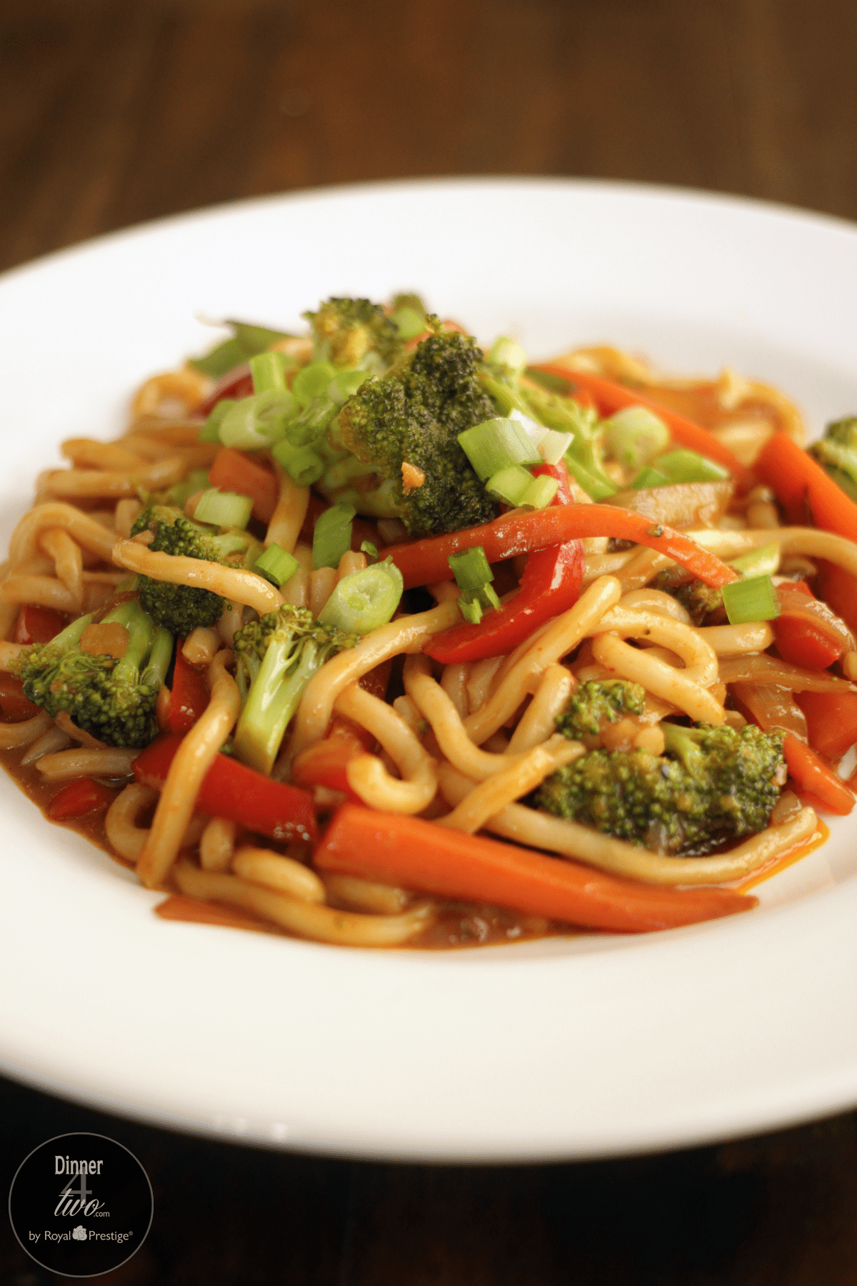 Sweet Thai Udon Noodles Dinner4Two by Kitchen Charm