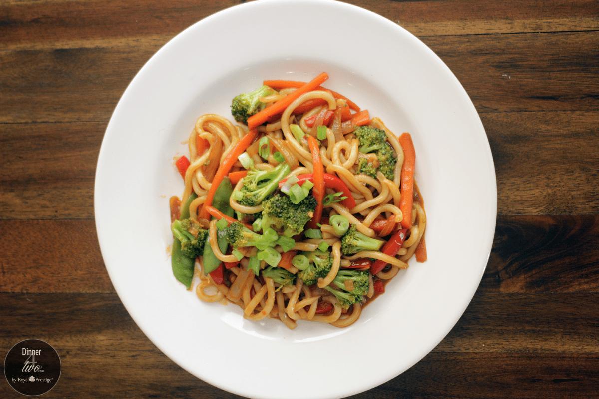 Blue apron wonton noodles - Sweet Thai Udon Noodles