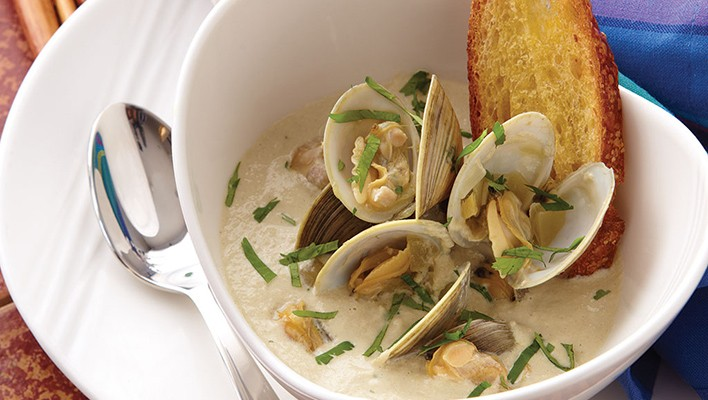 Cream of Clam Soup