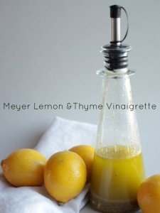 Meyer Lemon and Thyme Vinaigrette