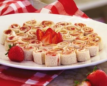 PB&J Sushi Rolls
