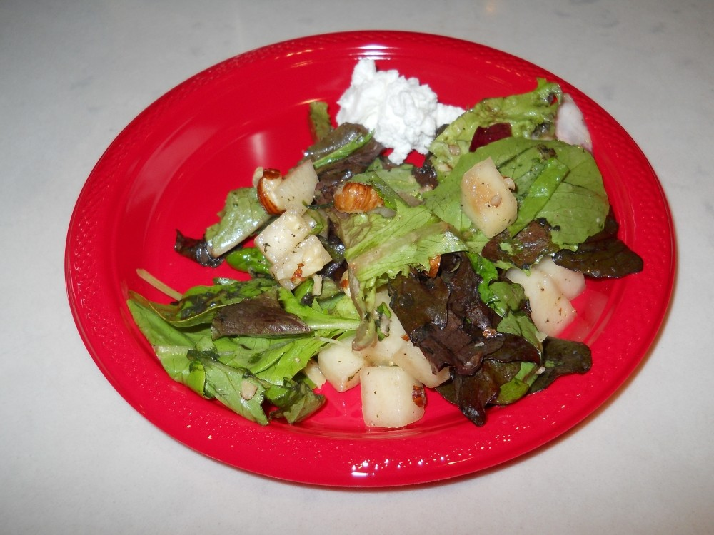Autumn Salad with Lemon Vinaigrette