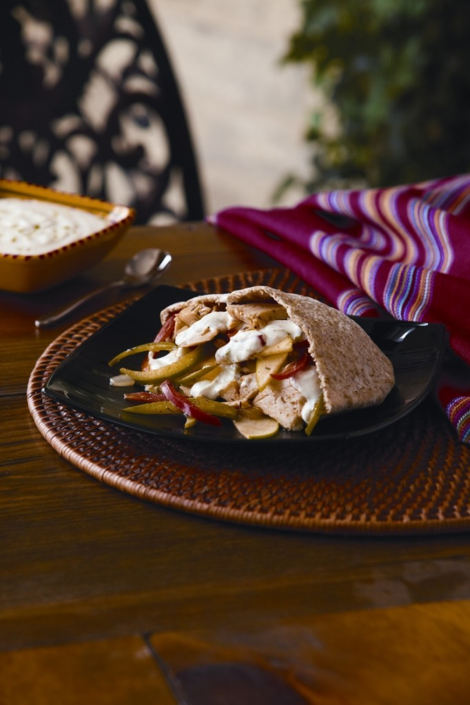 Leftover Turkey Pitas