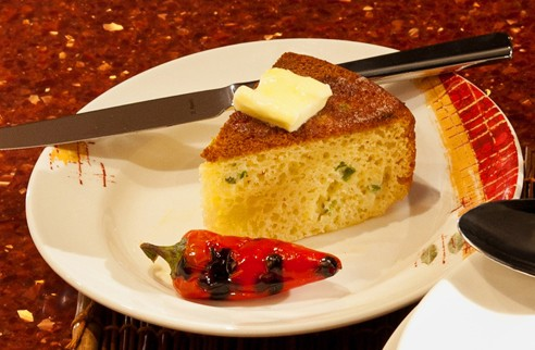 Jalapeno Corn Bread with Applewood Bacon