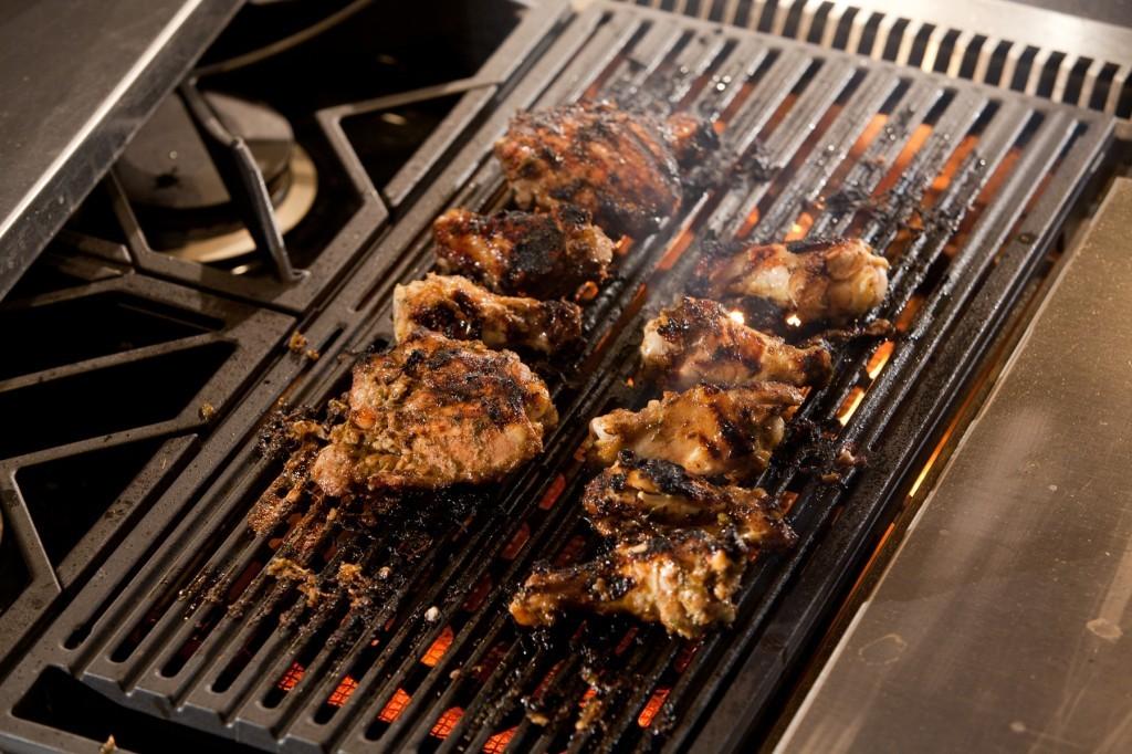 Jerk Chicken Thighs & Wings
