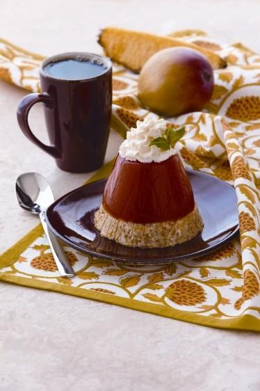 Pineapple Mango Jello Cakes