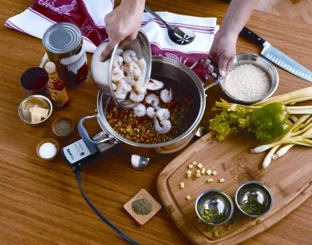 Shrimp Creole Casserole