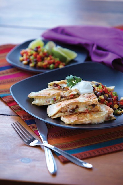 Tilapia Quesadillas