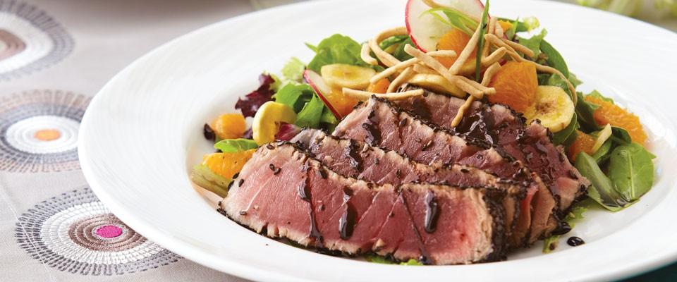 Ahi Tuna Salad Dinner4Two