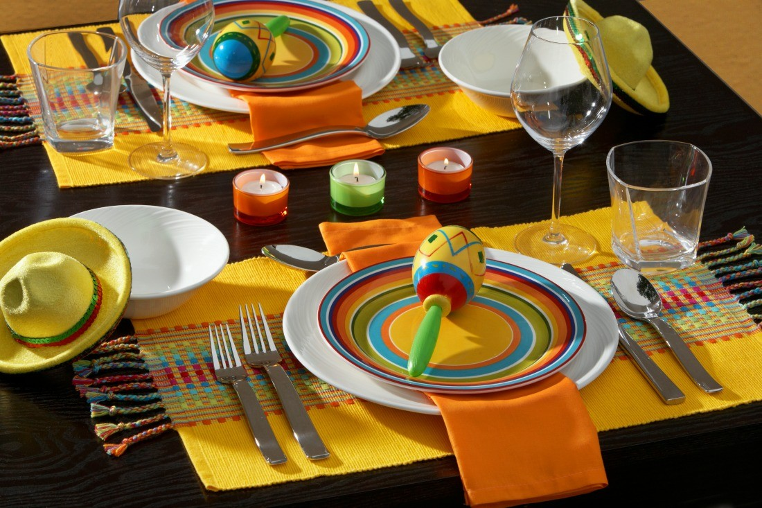 Cinco De Mayo Tablescape by Dinner4Two by Kitchen Charm