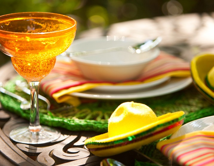 Cinco de Mayo Fiesta Tablescape by Dinner4Two