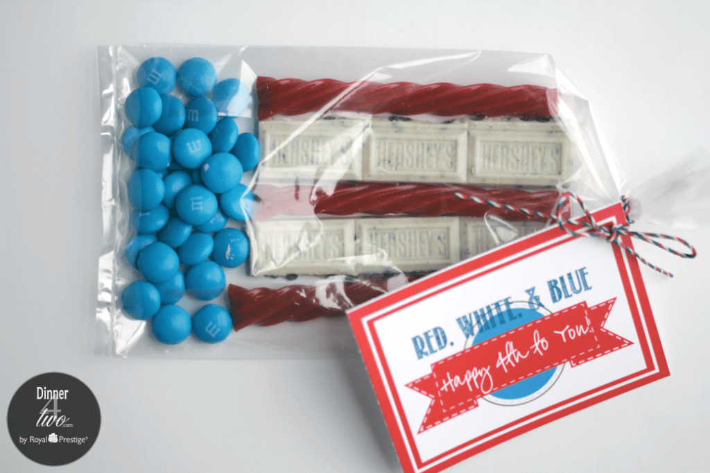 4th of July Flag Treats