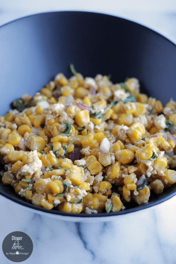 Cotija Lime Corn Salad