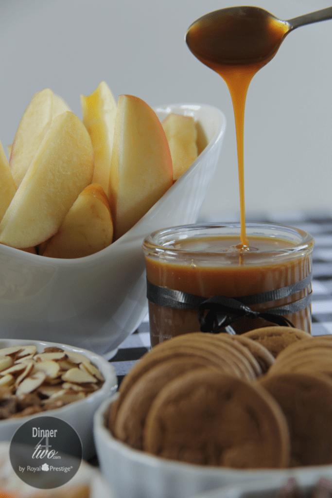 Caramel Apples Sundae Bar