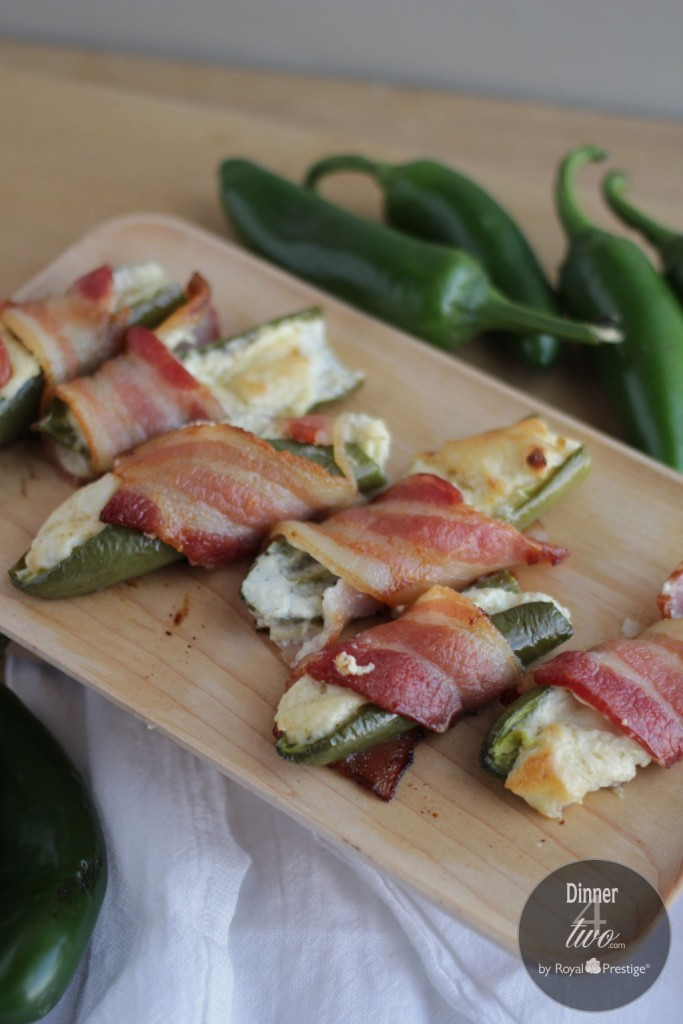 Dinner4Two Cream Cheese Bacon Wrapped Jalapenos
