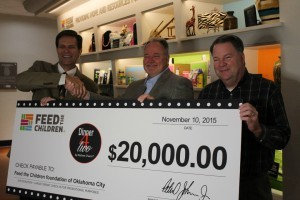 Dinner4Two by Kitchen Charm Donates $20,000 to Feed the Children