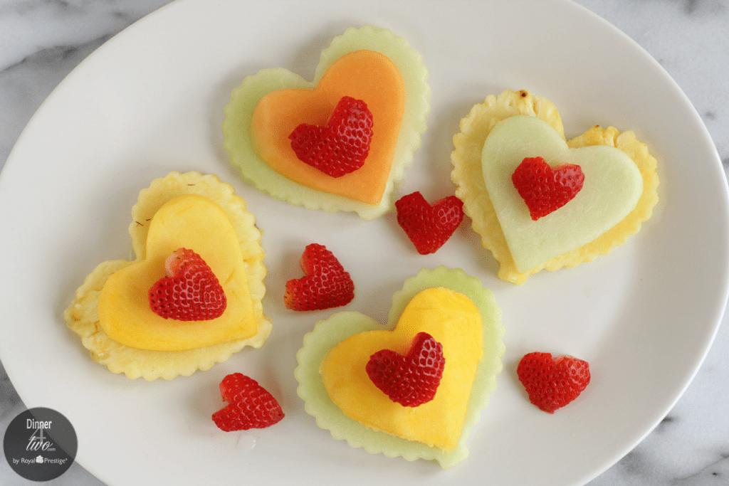 Valentine's Day Heart Healthy Fresh Fruit