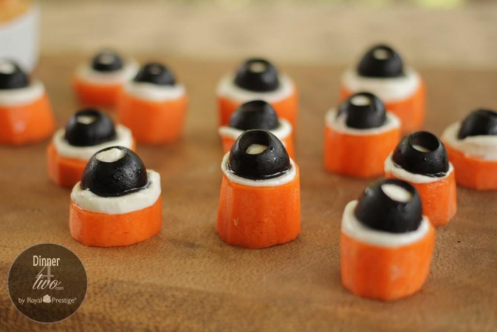 Halloween Creepy Eyeball Appetizer