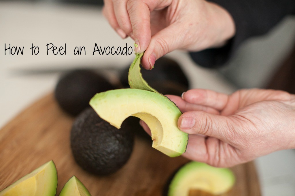 How to Peel an Avocado Video