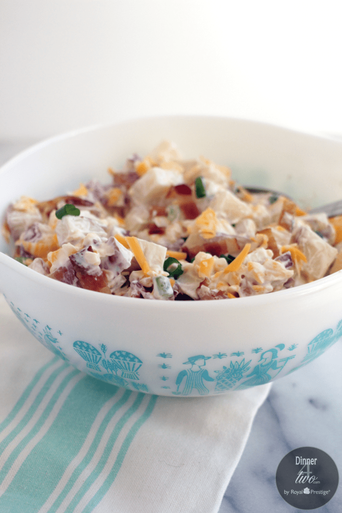 Loaded potato salad Dinner4Two