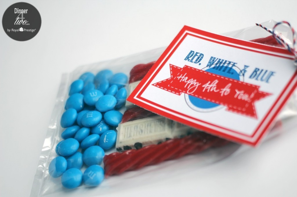 4th of July Flag treat bag