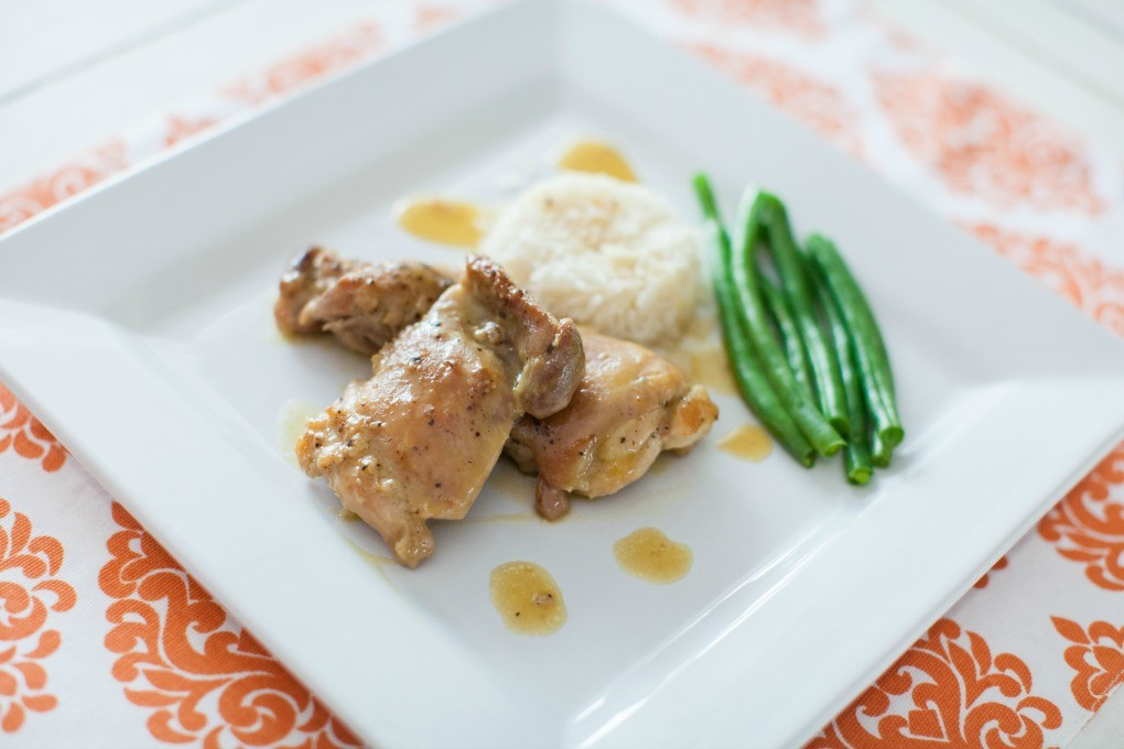 Honey Dijon Chicken and Rice