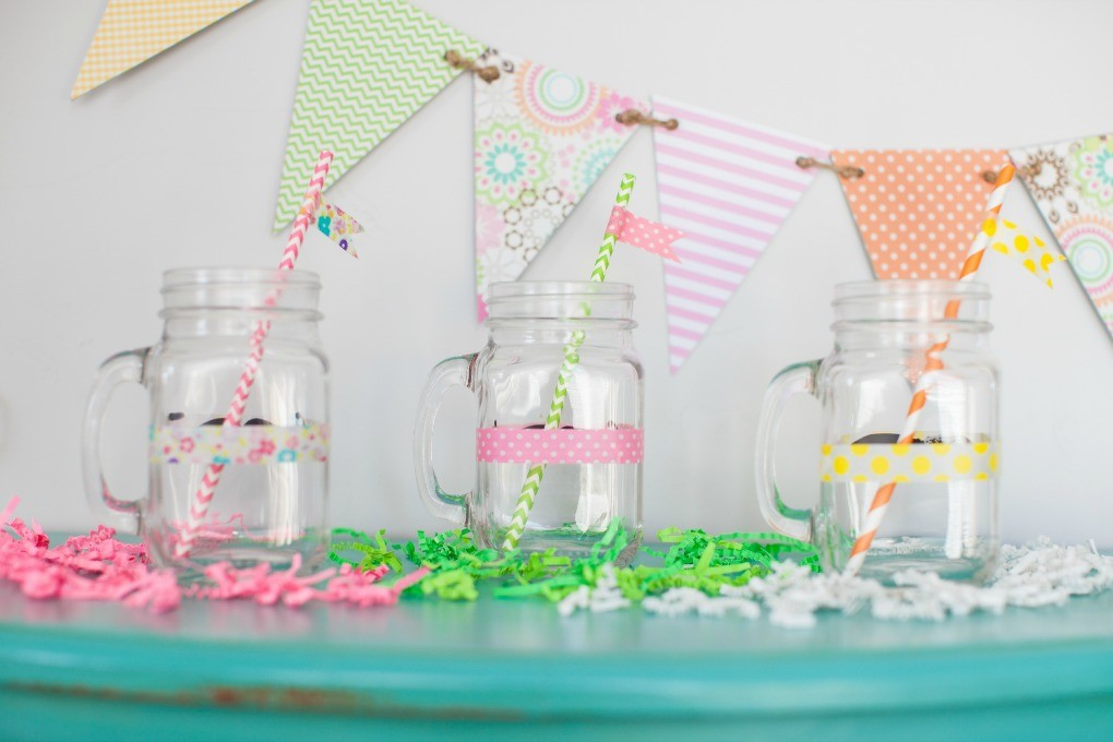 Spring Fizzy Floats