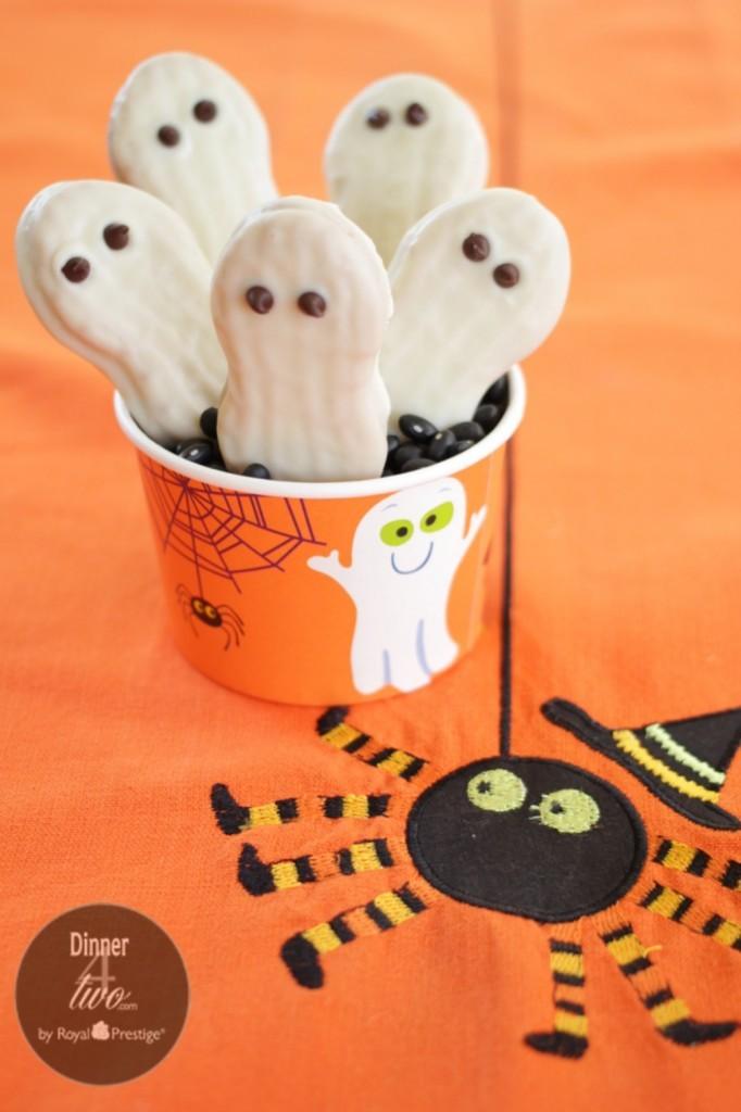 Nutter Butter Halloween Ghosts Cookies