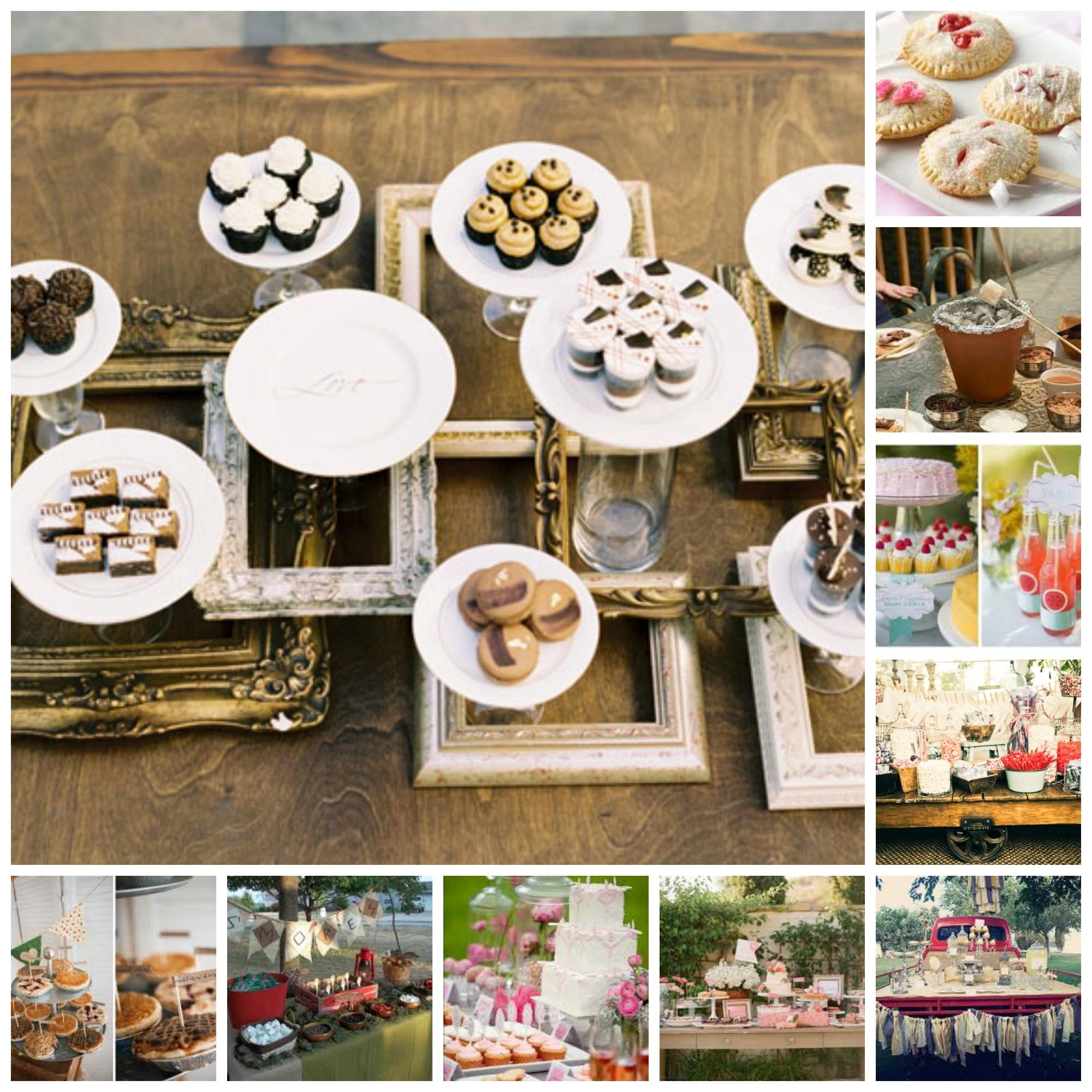 Wedding Dessert Bar Ideas - Dinner 4 Two