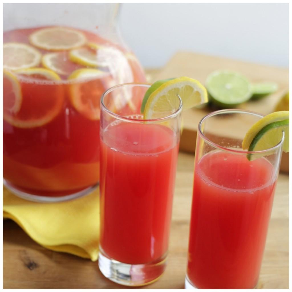 Watermelon Lemon-Limeade