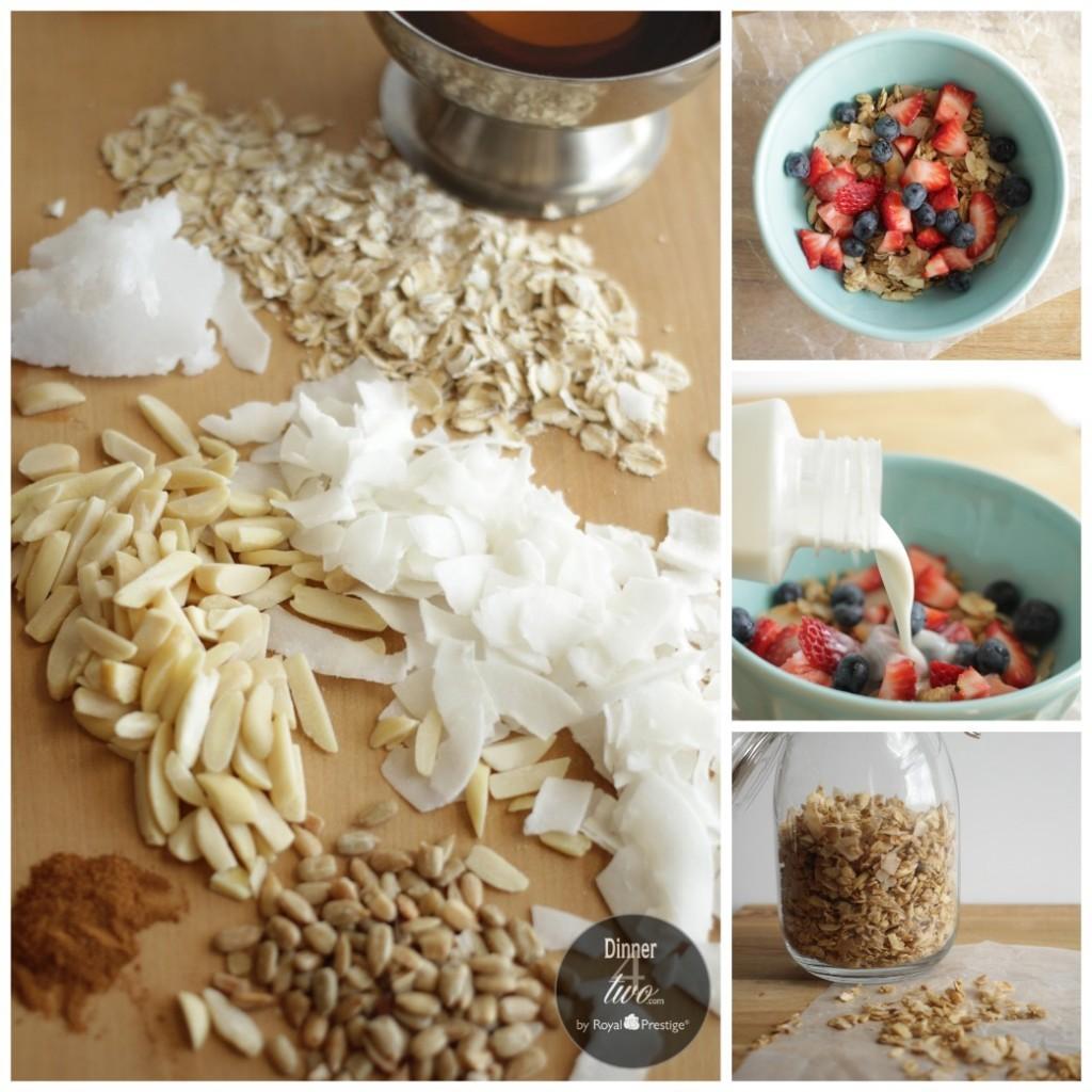 Homemade Stovetop Granola