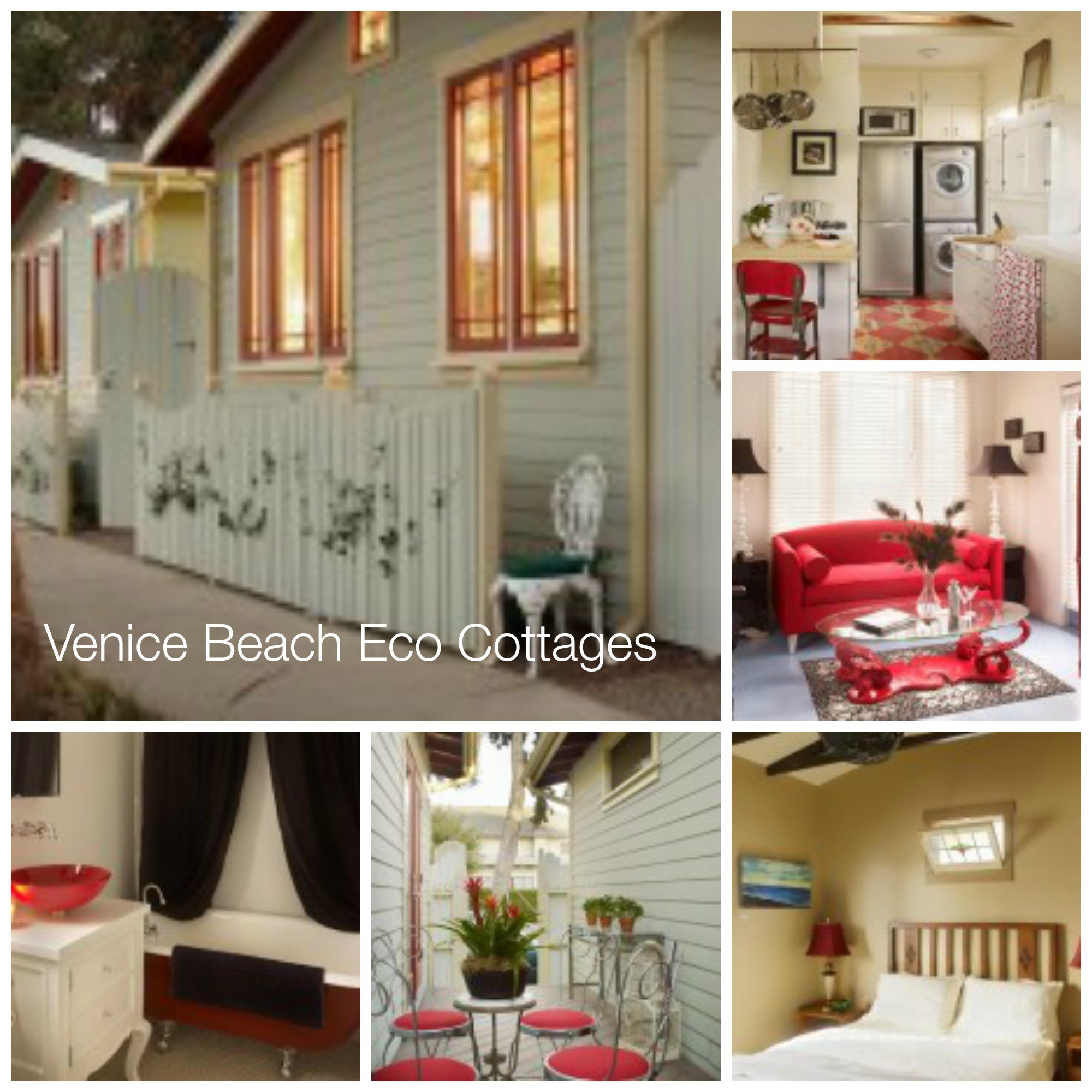 Venice Beach Eco Cottages California Los Angelas Honeymoon Destinations