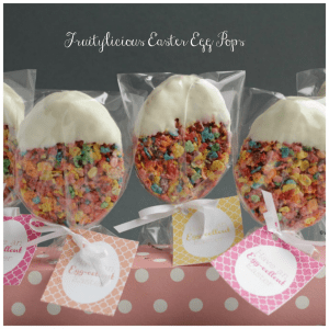 Easter, Fruity Pebbles, fruity pebbles treats, Easter treats, Dinner4Two, LifeisDelicious
