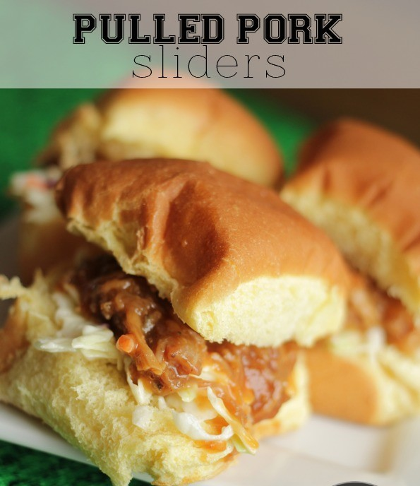Easy Barbecue Pulled pork sliders