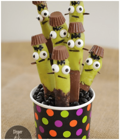 Frankenstein Halloween Treats
