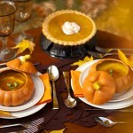 A Harvest Table for Two by V. Renee