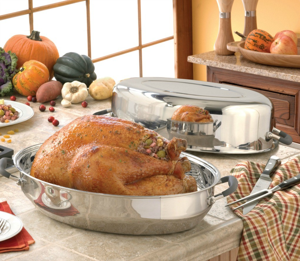 Turkey Roaster Kitchen Charm Cookware