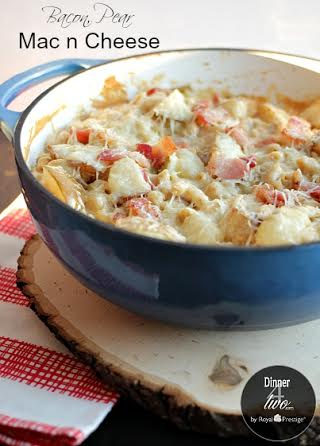 Bacon & Pear Mac N Cheese