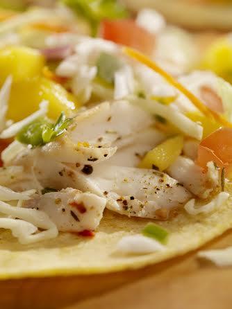 Caribbean Fish Tacos